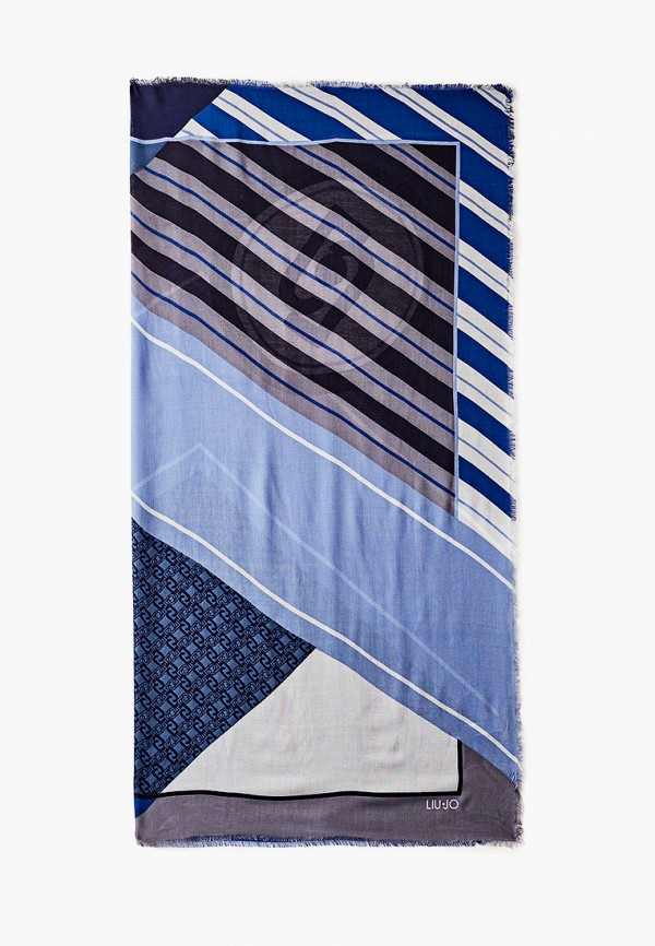 женский платок liu jo, синий