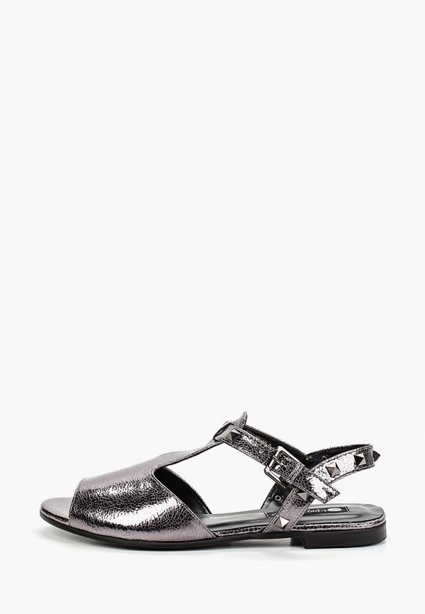 женские сандалии lino marano, серебряные
