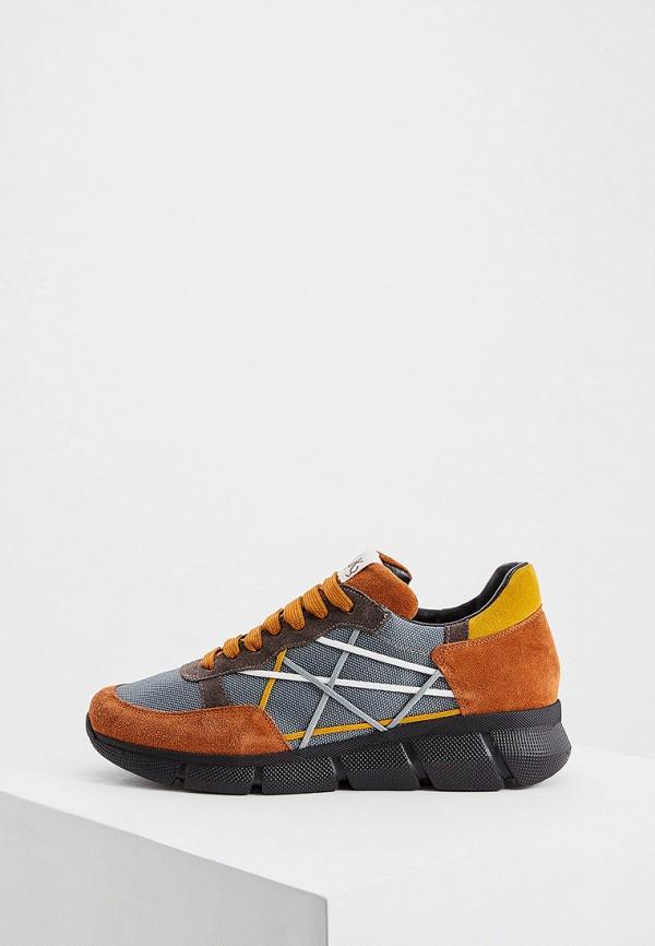 мужские кроссовки l4k3, оранжевые
