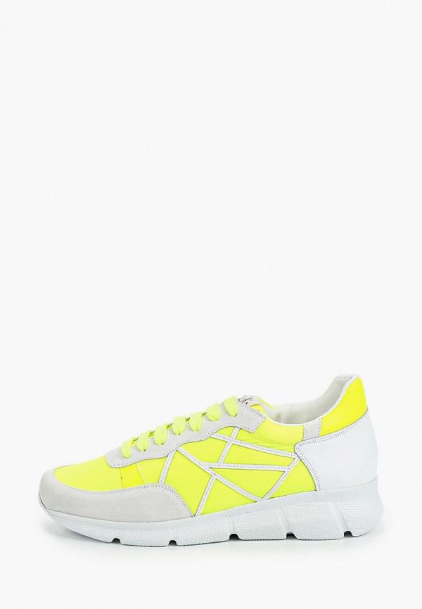 мужские кроссовки l4k3, желтые