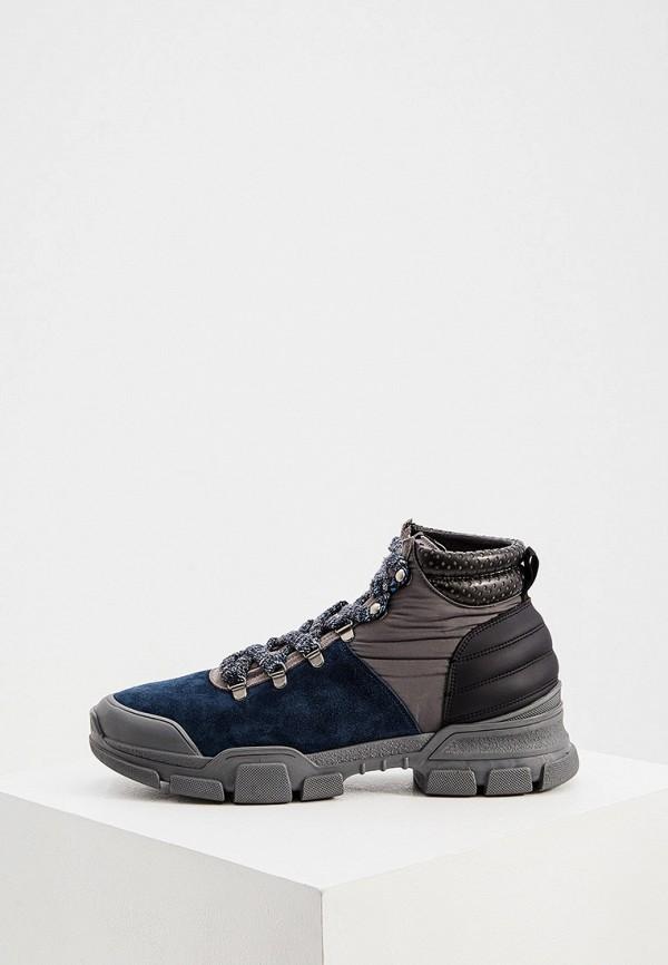 мужские ботинки l4k3, синие