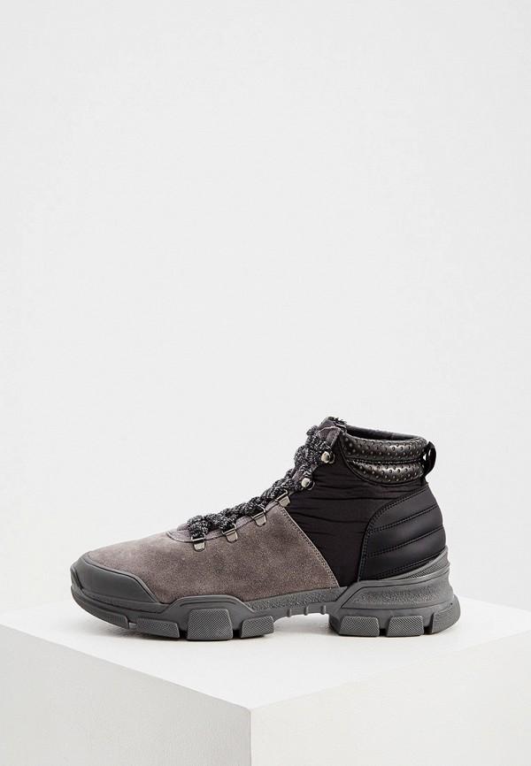 мужские ботинки l4k3, серые
