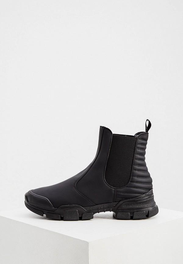 мужские ботинки l4k3, черные