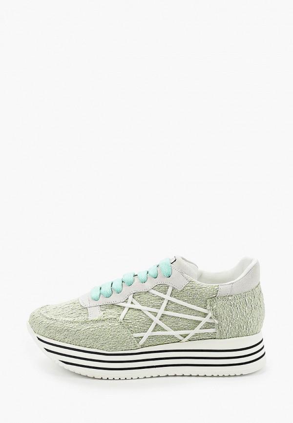женские кроссовки l4k3, зеленые