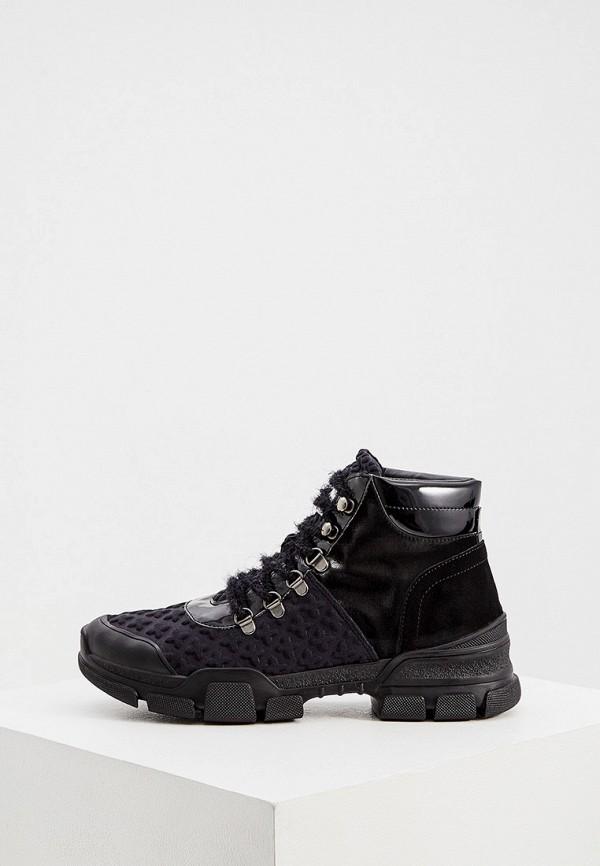 женские ботинки l4k3, черные