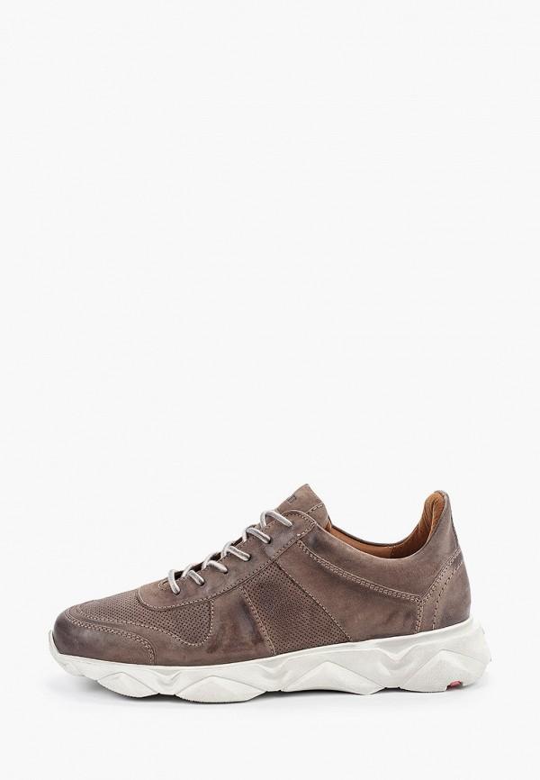 Фото - мужские кроссовки Lloyd коричневого цвета