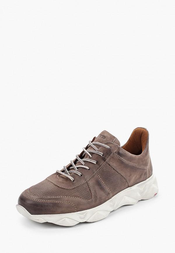 Фото 2 - мужские кроссовки Lloyd коричневого цвета