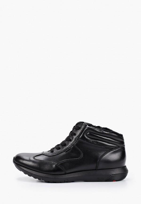 мужские высокие ботинки lloyd, черные