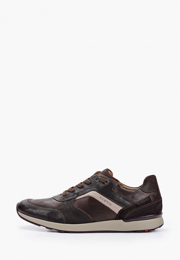 мужские низкие кроссовки lloyd, коричневые
