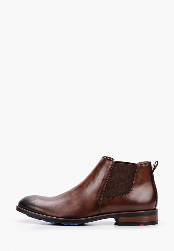 мужские ботинки-челси lloyd, коричневые