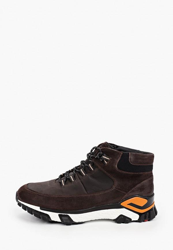 мужские ботинки lloyd, коричневые