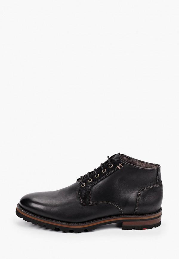 мужские ботинки lloyd, черные