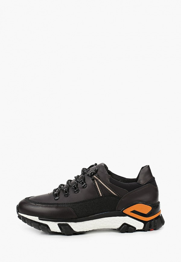 мужские кроссовки lloyd, коричневые