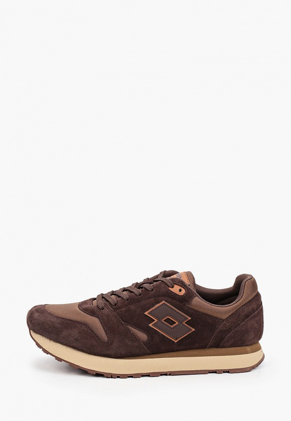 мужские кроссовки lotto, коричневые