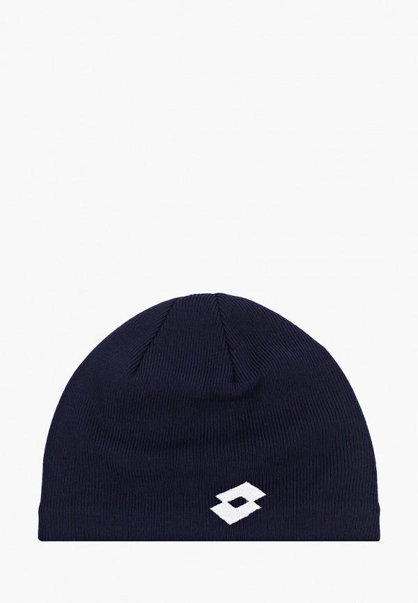 женская шапка lotto, синяя