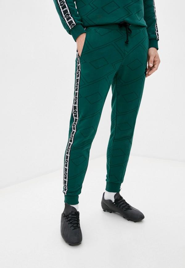 мужские спортивные брюки lotto, зеленые