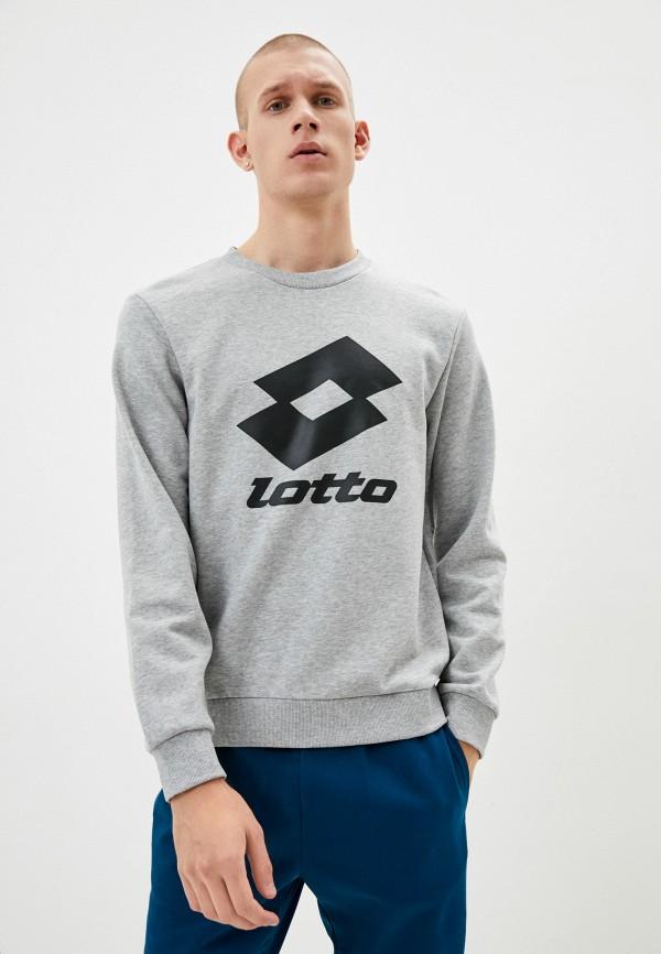 мужской свитшот lotto, серый