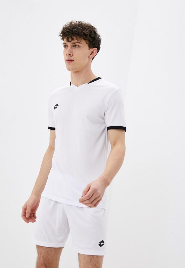 мужская спортивные футболка lotto, белая