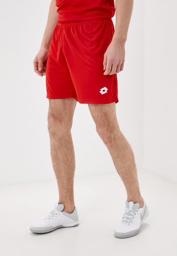 мужские спортивные шорты lotto, красные