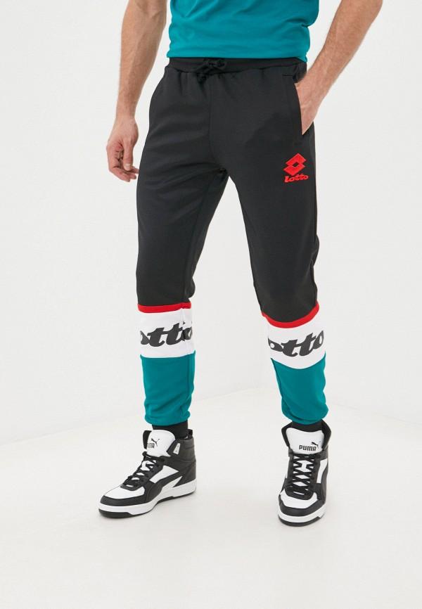 мужские спортивные брюки lotto, черные