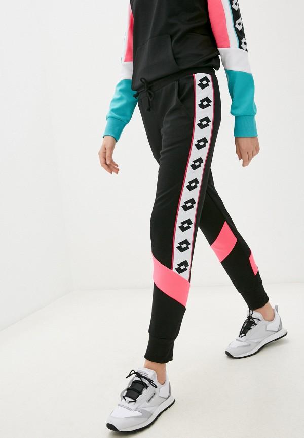 женские спортивные брюки lotto, черные