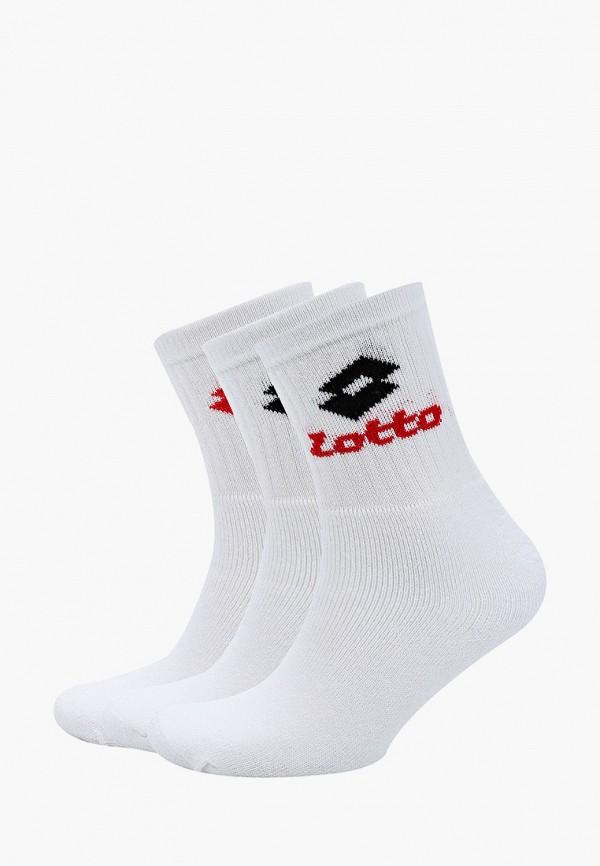 женские носки lotto, белые