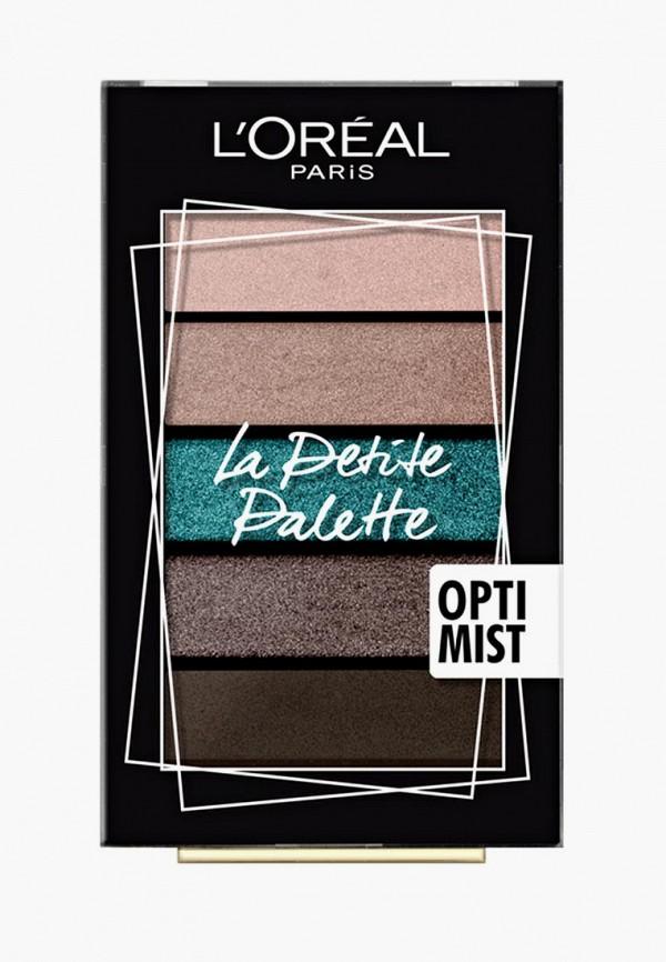 Купить Палетка для глаз L'Oreal Paris, Мини La Petite Palette , оттенок 03, Смелость, lo006lwbebq2, разноцветный, Осень-зима 2018/2019