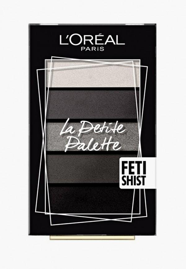 Купить Палетка для глаз L'Oreal Paris, Мини La Petite Palette , оттенок 06, Одержимость, LO006LWBEBQ3, прозрачный, Осень-зима 2018/2019