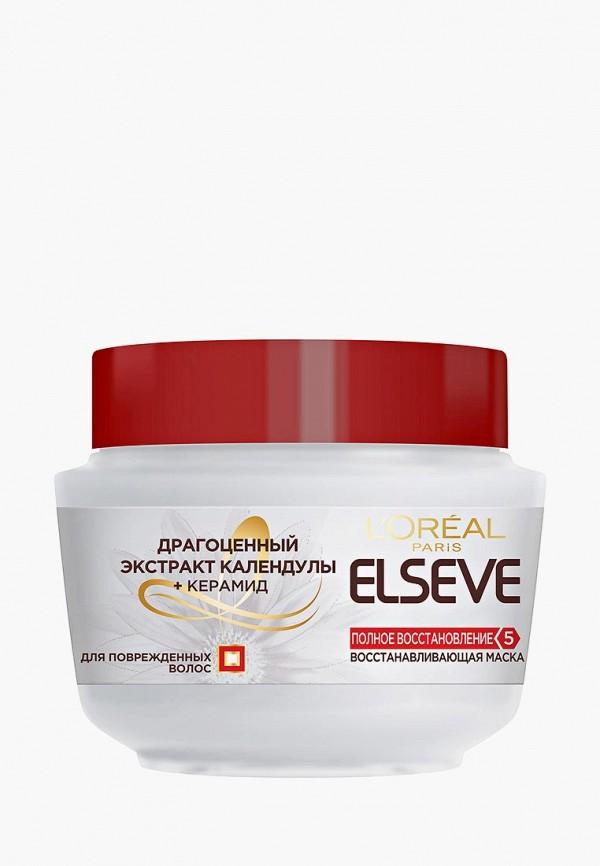 Купить Маска для волос L'Oreal Paris, Elseve Полное восстановление 5 , восстанавливающая, для поврежденных волос, 300 мл, lo006lwddtl8, белый, Весна-лето 2019