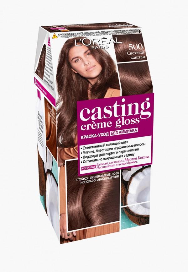 краска для волос l'oreal paris, коричневый