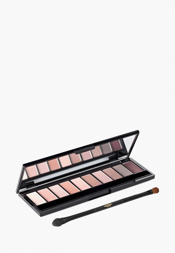 Купить Тени для век L'Oreal Paris, палетка теней La Palette Nude, Color Riche , оттенок 001, Rose, LO006LWGRC34, разноцветный, Весна-лето 2018