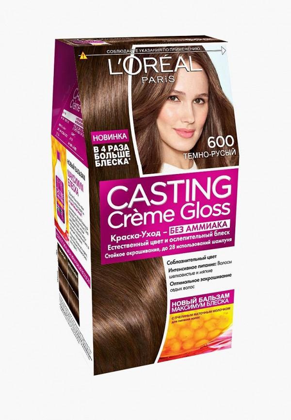 Купить Краска для волос L'Oreal Paris, Casting Creme Gloss, 600 Темно-русый, lo006lwiiw87, Весна-лето 2019
