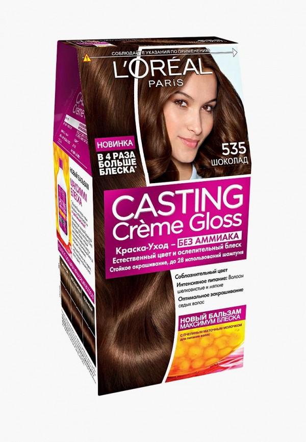Купить Краска для волос L'Oreal Paris, Casting Creme Gloss, 535 Шоколад, lo006lwiiw90, Весна-лето 2019
