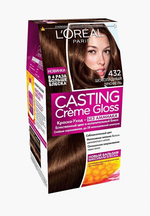 Купить Краска для волос L'Oreal Paris, Casting Creme Gloss, 432 Шоколадный трюфель, lo006lwiix17, Весна-лето 2019