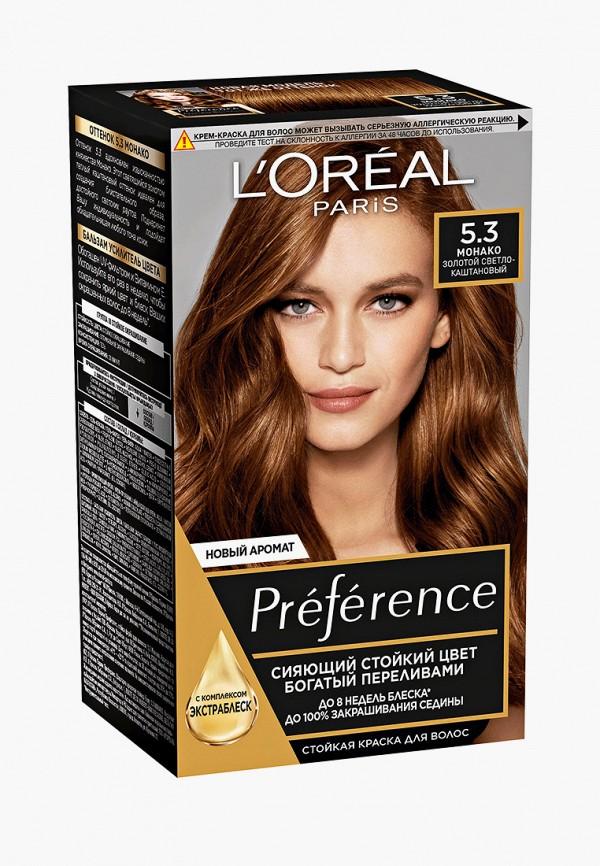 женский краска для волос l'oreal paris, коричневый