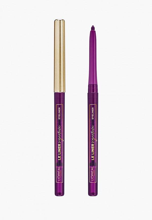 женский карандаш для глаз l'oreal paris, фиолетовый