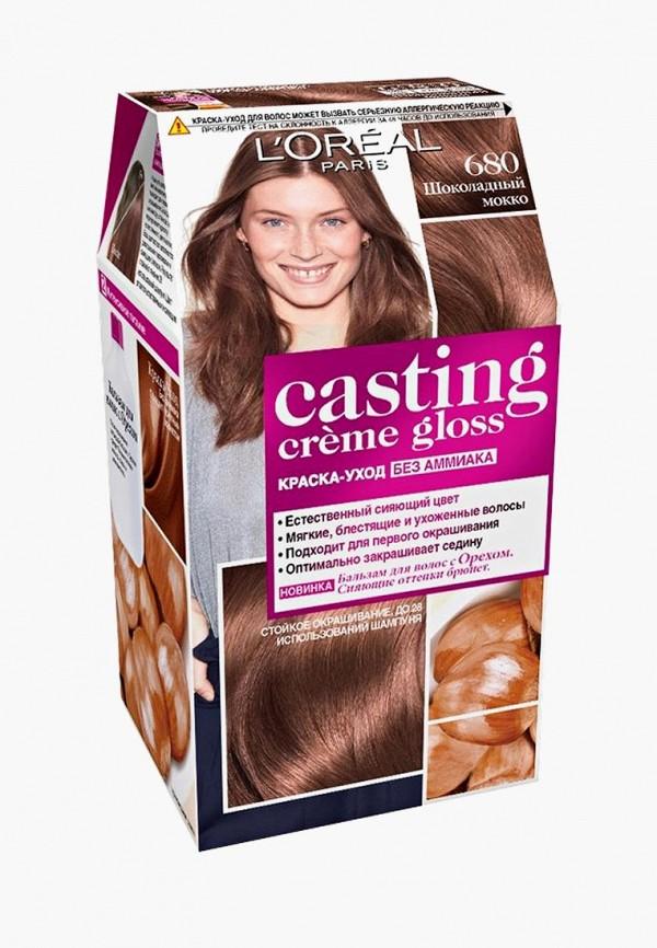 Купить Краска для волос L'Oreal Paris, Casting Creme Gloss 680 Шоколадный Мокко, lo006lwlog27, Весна-лето 2019