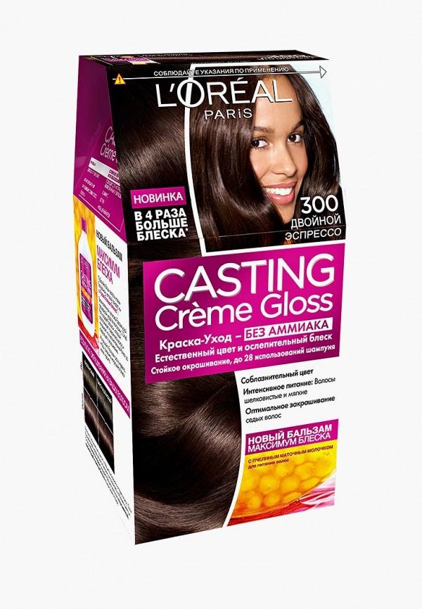 Купить Краска для волос L'Oreal Paris, Casting Creme Gloss 300 Двойной эспрессо, lo006lwlog30, Осень-зима 2018/2019