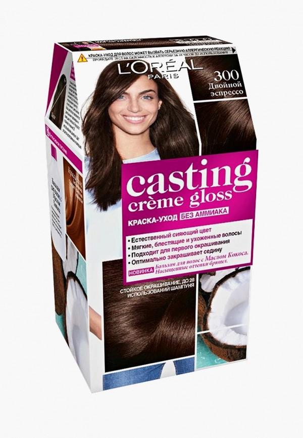 Купить Краска для волос L'Oreal Paris, Casting Creme Gloss 300 Двойной эспрессо, lo006lwlog30, Весна-лето 2019