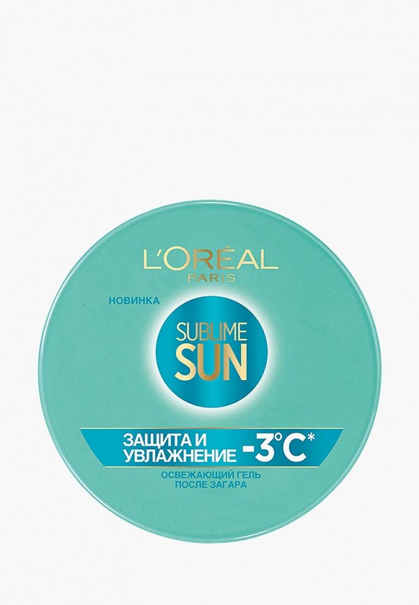 Купить Средство после загара L'Oreal Paris, Sublime Sun Защита и увлажнение, 150 мл, LO006LWSCQ05, прозрачный, Осень-зима 2018/2019