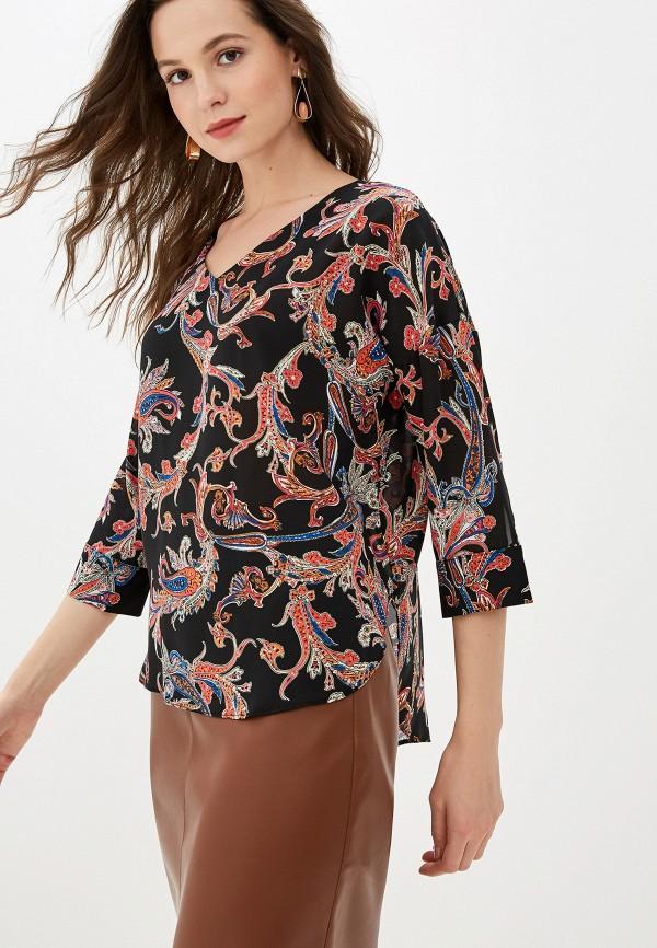 женская блузка love my body, черная