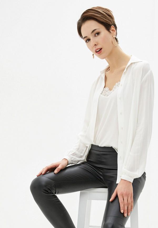 женская блузка love my body, белая