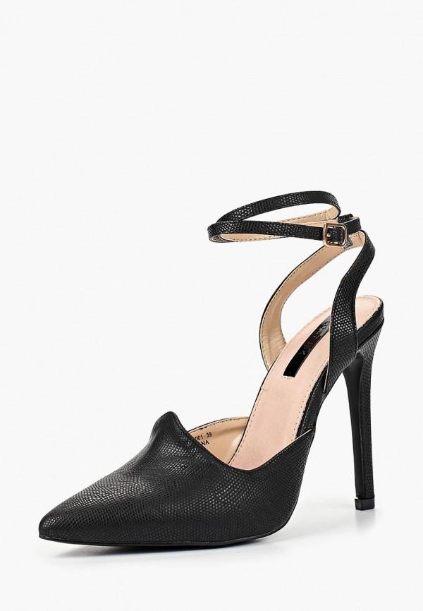 Фото 5 - женские туфли LOST INK черного цвета