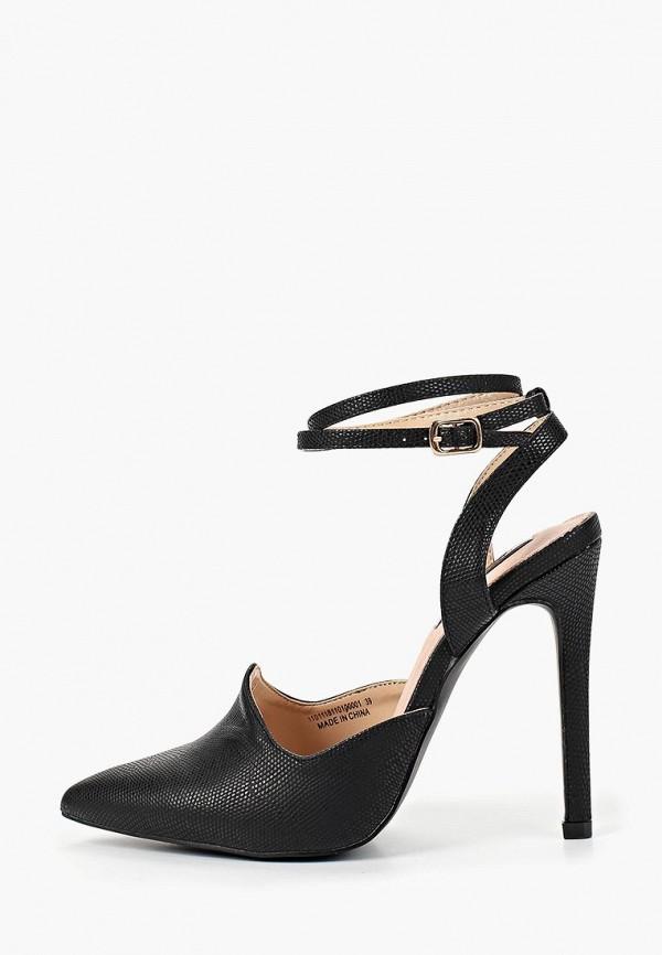 Фото 6 - женские туфли LOST INK черного цвета