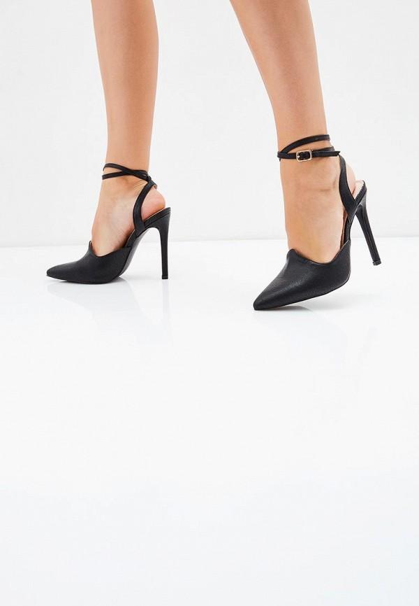 Фото 9 - женские туфли LOST INK черного цвета