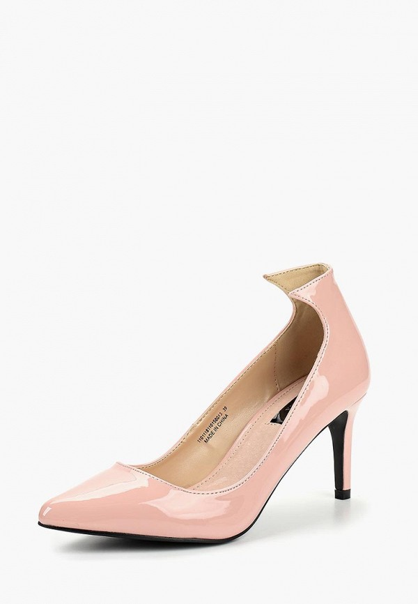 Купить Туфли LOST INK, TRINI ANGLED CUT KITTEN, lo019awcdta2, розовый, Осень-зима 2018/2019