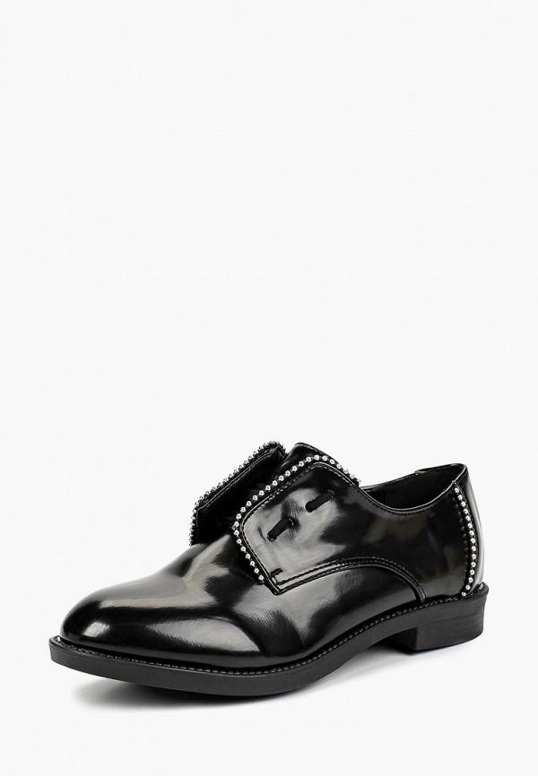 женские ботинки lost ink, черные