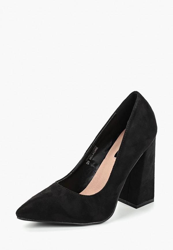 Купить Туфли LOST INK, WF AMBER BLOCK HEEL COURT, LO019AWCQIY8, черный, Осень-зима 2018/2019