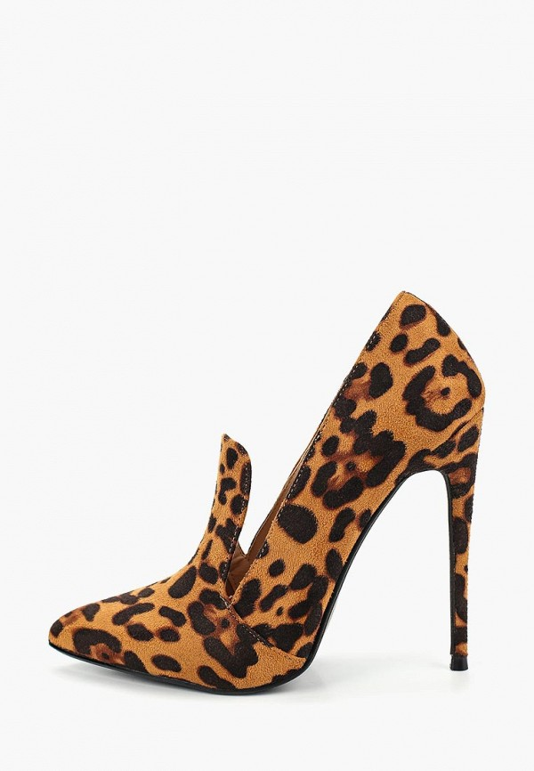 женские туфли lost ink, коричневые