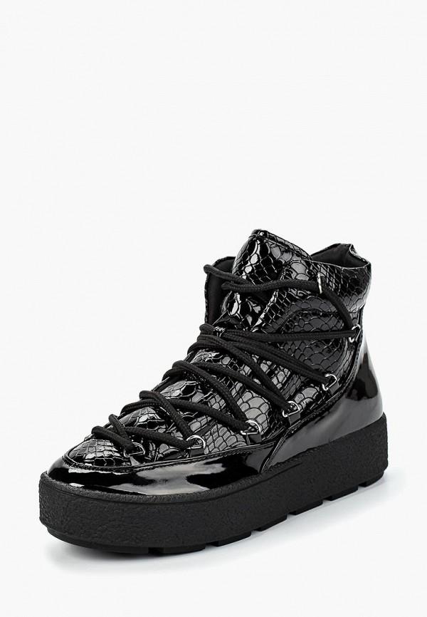 Купить Ботинки LOST INK, GABBI PATENT SNAKE MIX PADDED, LO019AWCQJF3, черный, Осень-зима 2018/2019
